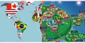 El gran parque de atracciones que es el mundo