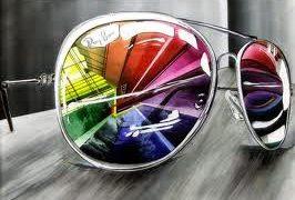 ¿Con tus gafas o con las mías?