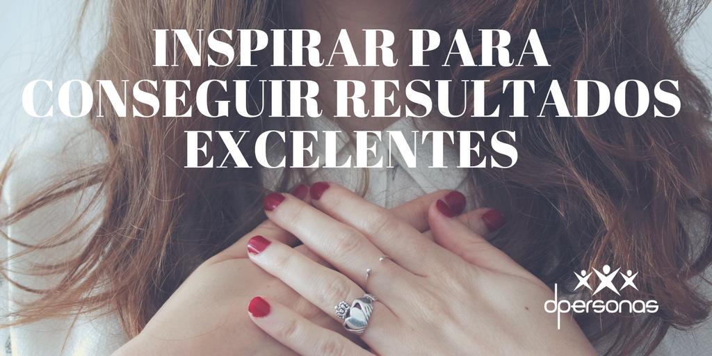 Inspirar para conseguir resultados excelentes